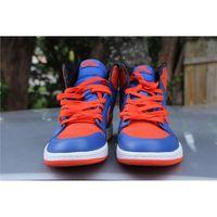 air jordans basketball - Air Jordan Retro High OG Knicks Game Royal Team Orange Gm Ryl Jordans Retros s Knicks Men Basketball Come With Original Box