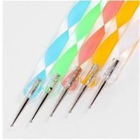 Wholesale Way Dotting Pen Marbleizing Painting Tool Nail Art Dot Set FPW
