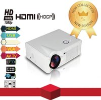 Wholesale New Full HD P inch Projector Portable Lumens Contrast Ratio HDMI VGA USB for Home Theater Projector