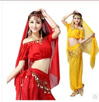 adults only games - Women Halloween Cosplay Party Wedding Belly Dancer Aladdin Princess Jasmine Costume Adults only top pants