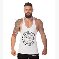 Wholesale 2016 Men s Tank Tops Body Shapers Comfortable Colors Cotton High Quality Tank Tops Slimming Boy Body Sport FitnessTank Tops