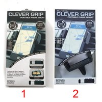 Wholesale Bell Howell Clever Grip MAX Portable Phone Mount for most Smartphones Car Holder for Smart Phones DHL