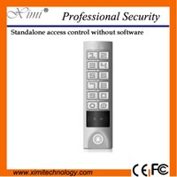 Wholesale Hot sale KHZ RFID card reader new arrival with keypad waterproof proximity card single door access control
