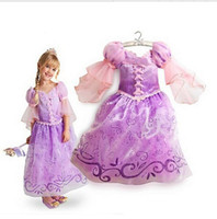 best year boats - 2016 new year girls dress best gift for kids birthday party dress lantern sleeve purple princess dresses baby girls clothes T