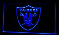 Wholesale LS074 b Oakland Raiders Football Bar Beer Neon Light Sign