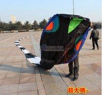 Soft Kites big huge snakes - 3D meters Stunt huge SNAKE POWER Sport Kite outdoor toy aaa