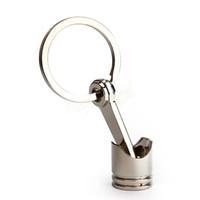 automotive piston rings - 2015 New Automotive Parts Key Rings For Car Silver Color Piston Model Alloy Key Chain HA10621