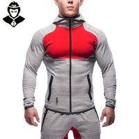 fashion clothes for men - Gym Aesthetics Revolution Gym Snapback Clothing Hoodie Men Bodybuilding Pullover Sweatshirt Fitness Jogging Sport Wear For Boys