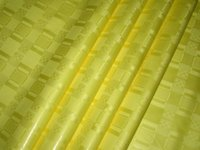 Wholesale High Quality Guinea Brocade Bazin Riche Yards Bag Bright Yellow nice design african Garment Fabric Shadda
