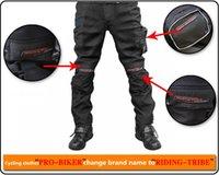 active pro gear - M L XL XXL XL Protective Gear Pro biker Black Polyester Full Length Tld Motocross Racing pants Men