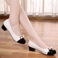 belle toe - BELLE crystal guest Chun Chun Xia leather shoes with leather shoes with ol low heel shoes with flat bottomed single shoes casual shoes
