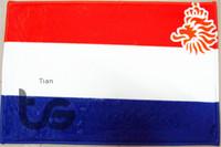 Wholesale Netherlands Holland National flag series mat D08034 Front door mat bathroom mat soft warm water absorption mat carpet CM