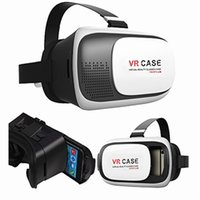 Wholesale VRCASE Virtual Reality Head mounted D Glasses Generations Of Cell Phones Game Audio Helmet BOX Storm Mirror Bluetooth Remote Control
