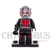 ant toy - ANT MAN Scott Lang MARVEL SUPER HEROES THE AVENGERS Assemble Minifigures Model DIY Building Blocks Kids Toy Gift