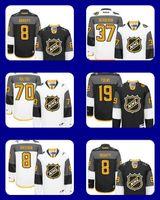 alexander star - 2016 NHL All Star Premier Jersey Patrice Bergeron Braden Holtby Jonathan Toews Alexander Ovechkin Black white Hockey Jerseys
