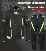 Wholesale Waterproof Fluorescent Jersey Pants for Men Windproof Zipper Fly Rip Stop Nylon Racing Pants for Men