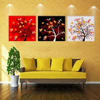 apple tree sprays - Home decoration unframed Pieces picture Canvas Prints Abstract oil painting trees rose petal Coffee tea flower Apple strawberry
