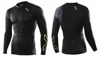 Wholesale Brand Compression thermal tights tops Fitness Wear Gym clothing Long sleeve