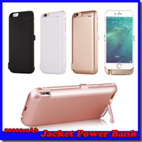 battery jacket - For iPhone quot mAh External Battery Power Bank Back Case Backup Jacket Battery Charger Cases for inch colors
