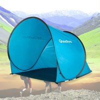 Wholesale Waterproof Outdoor Tent Quick Automatic Opening Summer Sun Shade UV Protection Fishing Tent Camping Hiking Tent MA0168