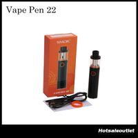 Wholesale Authentic SMOK Vape Pen Starter Kit with mAh Battery Capacity LED indicator Original