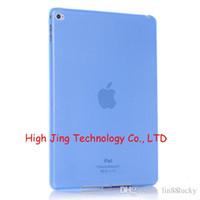 Wholesale Smart cover transparent TPU soft case for ipad mini case for ipad back case for ipad air