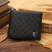 american business customs - 2016 Hot Manufacturers Custom made Foreign Trade Casual Wallet Business Short Paragraph Plaid Men Wallet Purse