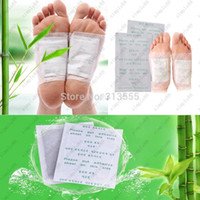 Wholesale Genuine pads one Pack retail box Foot Patch Detox Improve Sleep slimming Feet stickers DHL