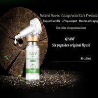Wholesale QYANF Areginine Essence Six Peptides Original Liquid Skin Hydrating Serum Moisturizing Toner Face Whitening Anti aging Acid anti wrinkle