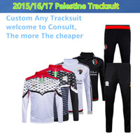 Wholesale Thai Palestine nation team tracksuit jacket Palestinia Survetement Football shirt Training clothes coat chandal sports Rugby jerseys