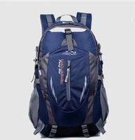 baseball back packs - 2016 New Waterproof Nylon Hiking Backpack Outdoor Sports Bag Rucksack Mountaineering Bag Men s Travel Bags Back pack X023