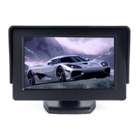 Wholesale 4 quot TFT LCD CCTV Screen Reverse Camera Kit DVD VCR Car Rearview Backup Color Monitor Display