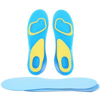 Wholesale Orthotic Arch Support Massaging Silicone Anti Slip Gel Soft Sport Insole Pad For Man Women