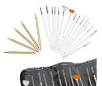 Wholesale Fashion Pieces Set Nail Art Dotting Tools Pieces Manicure Brushes Pieces Dots Pen Nail Art Pen brush set