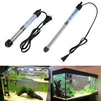 Wholesale 200W W Aquarium Mini Submersible Fish Tank Adjustable Water Heater hot store