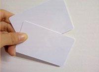 Wholesale 1000PCS RFID PVC Plastic card KHZ blank card ATMEL T5577 Hotel key card