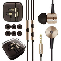 Wholesale 2ed mega bass updated version In Ear ear cup For XIAOMI Piston Earphone with Mic For XiaoMI Samsung iPhone HTC Sony