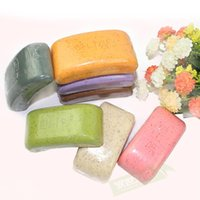 ash soap - Natural Pure Manual Mud Soap Skin Whitening Soap to Ashes Soap Exfoliating Scrub Rub Mud Soap