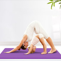 Wholesale High density Person cm cm mm Thick Yoga Mat for Fitness Shaping Sports