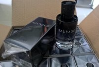lot of perfume - hot sale branded perfume of sauvage ml for men with magnetic cap drop shipping