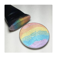 Wholesale In stock Prism Rainbow Highlighter by Bitter Lace Beauty cosmetic face eye makeup bronzer Cosmetic Blusher Shimmer Multi effec