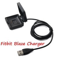 adapter watch batteries - 1m ft Charger Cable Battery Power Adapter Dock Cradle Charging Cord Wire For Fitbit Blaze Smart Watch Bracelet Replacement Newest