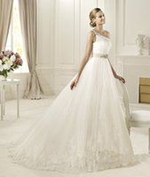 beautiful hens - New Arrival Wedding Dresses Israel Nurit Hen One Shoulder Beading Pearls Tulle Beautiful Bridal Ball Gowns with Monarch Chapel Train