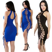 best preparation - 2016 The New Summer Night Out Dress Preparation Of Hollow Sexy Backless Dress Sexy Style European Style Best Sellers B