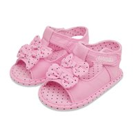 Wholesale The New Fashion Female Baby Sandals For Year Pink Butterfly knot Sandals For Kids Summer Children Sandals