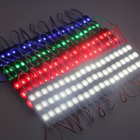Wholesale 1000pcs DC V Waterproof Injection Led Modules Light SMD Leds High Power Led Backlighting Modules Case With Cover Lens