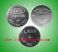 Cheap 1.5v AG13 LR44 A76 alkaline button battery,100% Fresh led lights batteries 10PCS per blister card