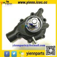 Wholesale engine overhual rebuild parts Mitsubishi S4F S2E S3E S4E S4E2 water pump for FD20 FD23 FD25 FD38 forklift