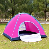 Wholesale Automatic outdoor tent person tent double sun tourism camping