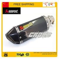 Wholesale TTR YBR YZF RSZ Motorcycle Exhaust Pipe Muffler pipe CBR CB400 CB600 CBR600 CBR1000 CBR250 CBR125 ER6N ER6R YZF600